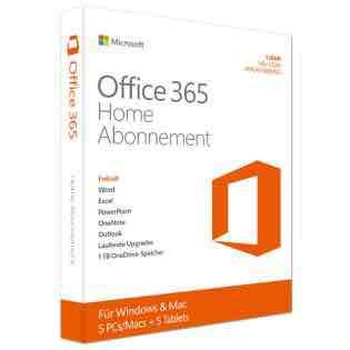 Microsoft Office 365 Home + McAfee