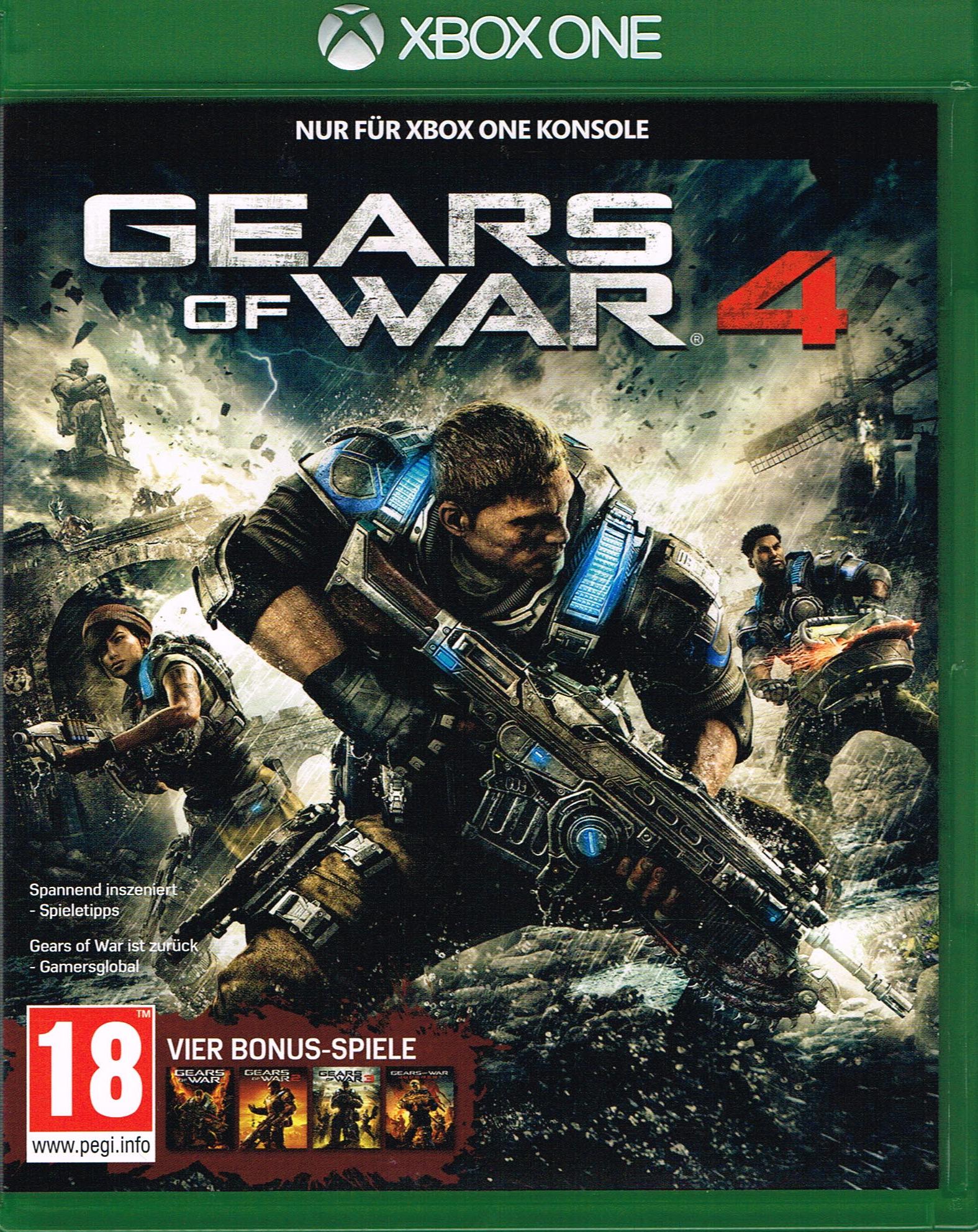 [gameware.at] Gears of War 4 für XBox-One