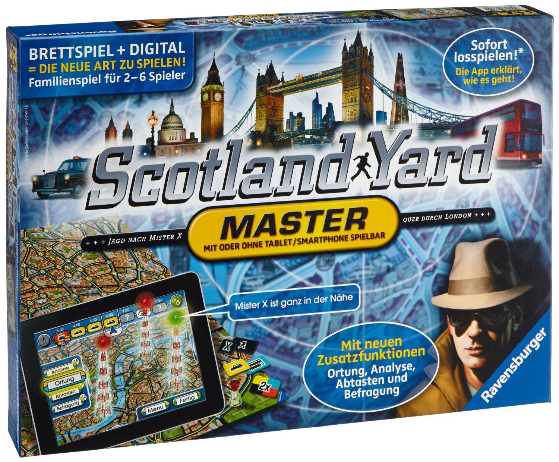[amazon.de Prime] Ravensburger Scotland Yard Master für 17,99€ inkl. Versand anstatt 28€