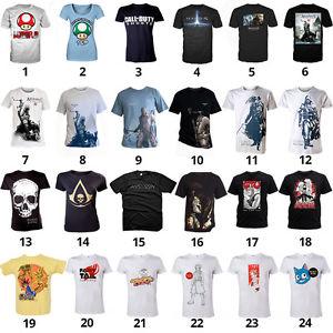 [Ebay wow] T-Shirts mit Gaming-Motiven von Nintendo und anderen für 9,99 €