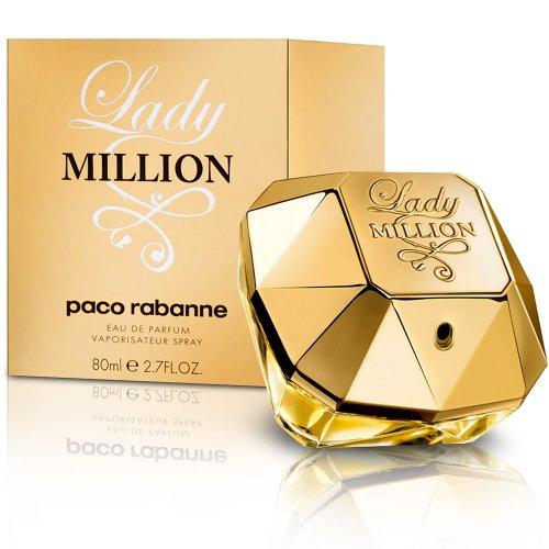 [Amazon Blitzangebot] Paco Rabanne Lady Million 80 ml für 49,95 / Vgl. 56,80