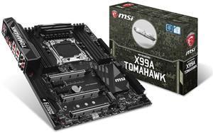 MSI X99A Tomahawk + Steelseries Siberia V2 für 249€ @computeruniverse - Arsenal-Motherboard mit Multi-GPU-Support (Dreifach-SLI, doppeltes Gigabit-Ethernet und acht DDR4-Slots)