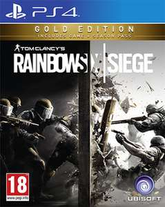 (Game.co.uk) Rainbow Six Siege – Gold Edition (PS4/Xbox One) für 30,09