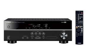 (MediaMarkt.at) Yamaha HTR-2067: 5.1 AV Receiver, 70 Watt pro Kanal, DD, DD Plus, DTS, 4x HDMI In, 3D-Ready, 4K-Pass-Through für 191€