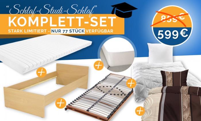 Preisfehler? Bett-Komplett-Set 299€ statt 599€
