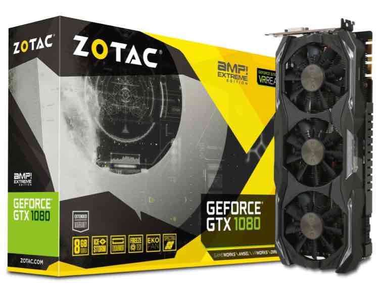 (Saturn, Masterpass) Zotac GeForce GTX 1080 AMP! Extreme Edition - 9% unter PVG