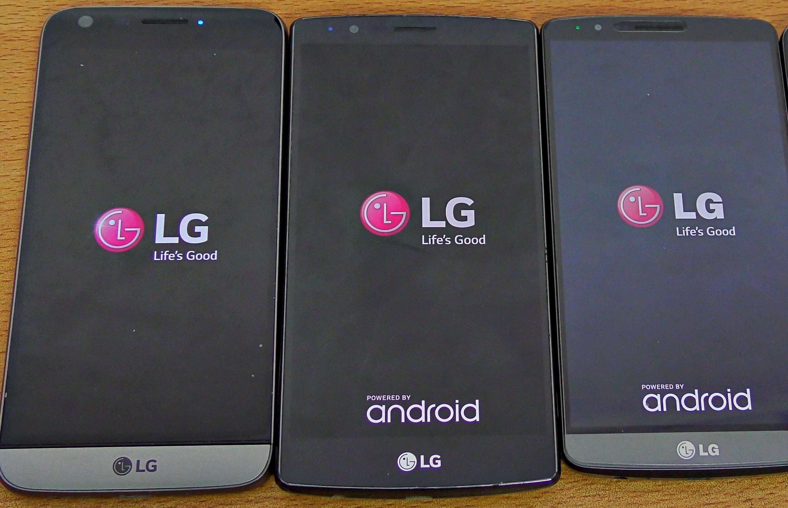 Amazon bis zu 25%: LG G3 für 159,25 € / LG G4 für 248,53 € / LG G5 für 364,78 €