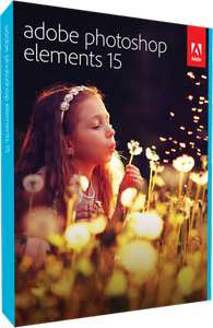 Bundle: Photoshop Elements 15 + Premiere Elements 15 + Photoshop Elements 15 Buch