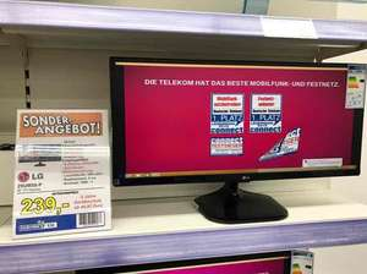 [Euronics Vilshofen ]LG 29UM58-P extrem günstig! PC Monitor