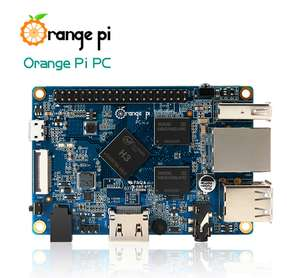 Orange Pi PC H3 Quad-core Learning Development Board Mali400MP2 GPU 1GB DDR3 für nur 12,15€ inkl. Versand [Gearbest]
