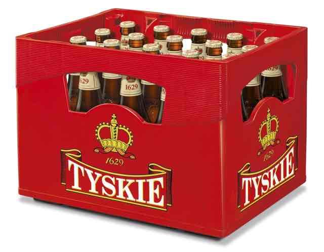 Tyskie Kiste ab dem 08.12.16 bei Kaufland  für 10,80 € zzgl. Pfand