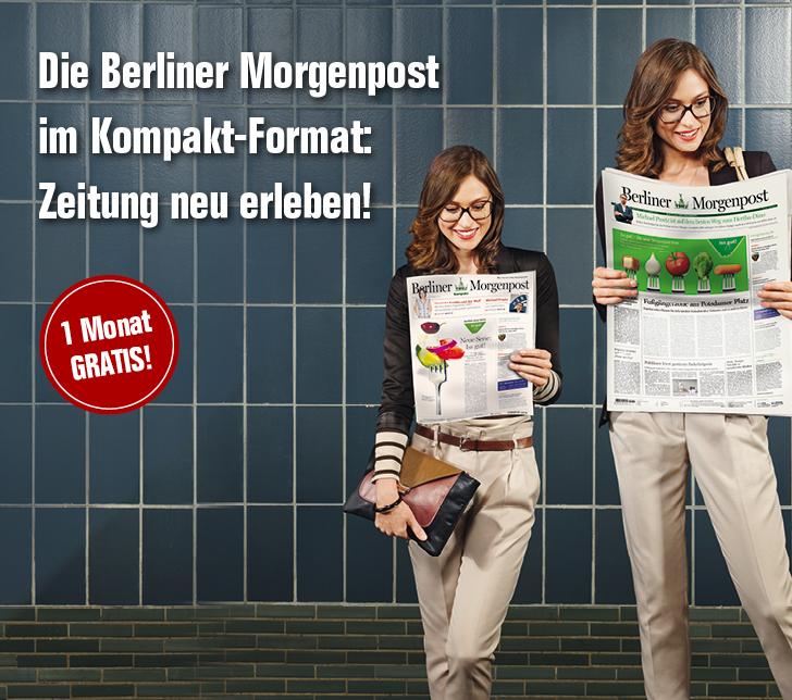 Berliner Morgenpost kompakt einen Monat lang kostenlos; endet automatisch