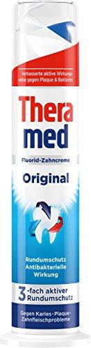 [Amazon Spar-Abo] Theramed Zahncreme Spender Original, 5er Pack (5 x 100 ml) für 3,06€