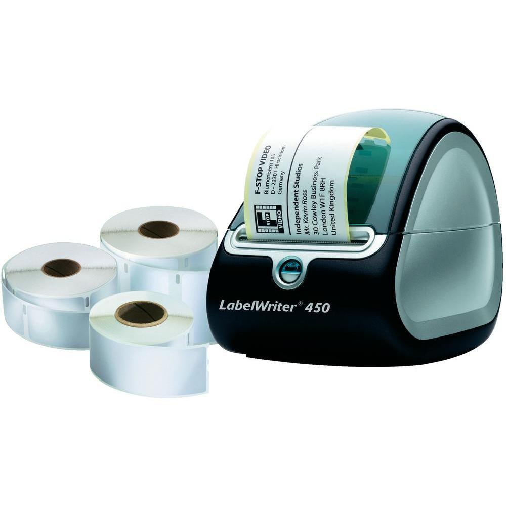 DYMO LabelWriter™ 450 inkl. 3 Etikettenrollen für 45 € [Conrad]