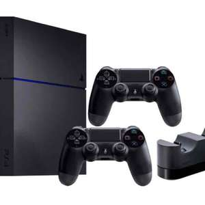 PlayStation 4 (PS4) 1TB + 2. Controller + Charger