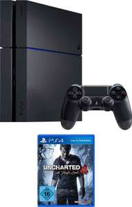 PlayStation 4 (PS4) 1TB + Uncharted 4: A Thief's End Plus Edition Konsolen-Set