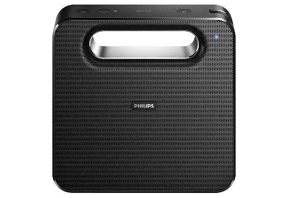 Philips BT5580 refurbished für 54,95€ im Dealclub - portabler Bluetooth-Lautsprecher (Bluetooth HD, NFC, 10 Watt, Mikrofon)