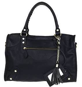 Amazon: Nourel London Damen Shopper Schwarz für 39,95 inkl. Versand (Prime) (idealo: 79,95)