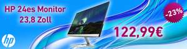 HP 24es Monitor  - HP Education Store