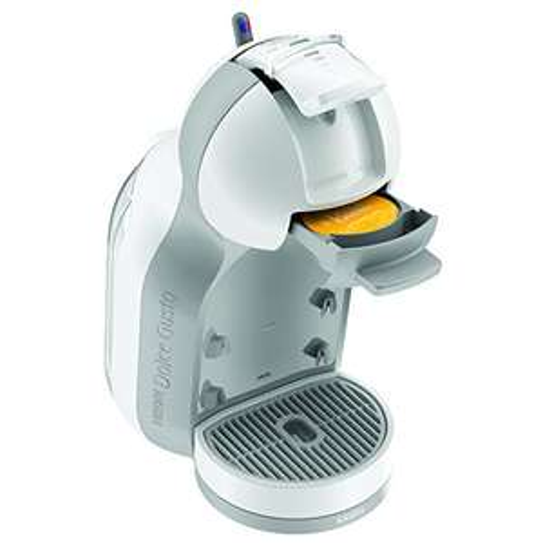 Krups KP 1201 Nescafé Dolce Gusto Mini Me Kaffeekapselmaschine (automatisch) weiß/grau