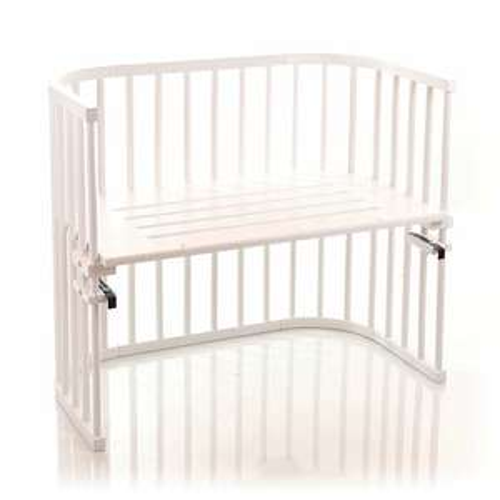 babybay Baby Beistellbett, weiß lackiert für 113,89 € [Amazon Blitzangebot]