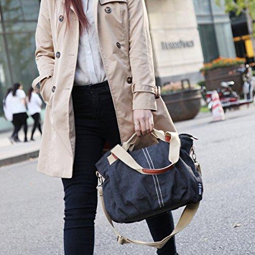 Damen Handtasche aus Canvas - sportlich, lässig - Amazon mit Prime