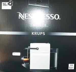 Krups Nespresso Inissia XN 1001 weiss für nur 58,58€