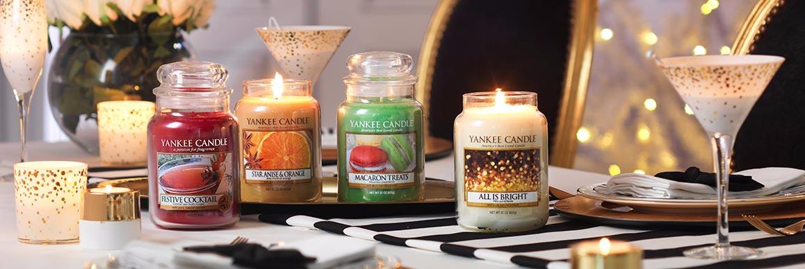Ankündigung: 20 % Rabatt auf alle Yankee Candle Produkte bei Condeco für den 25. 26 und 28.