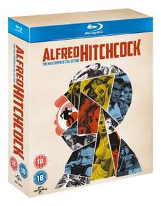 Alfred Hitchcock: The Masterpiece Collection 14 Blu-ray Discs [Amazon.co.uk]