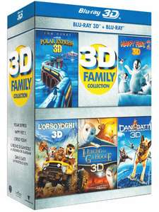 (Amazon.it) 3D Family Collection (3D+2D Blu-ray) für 16,76€