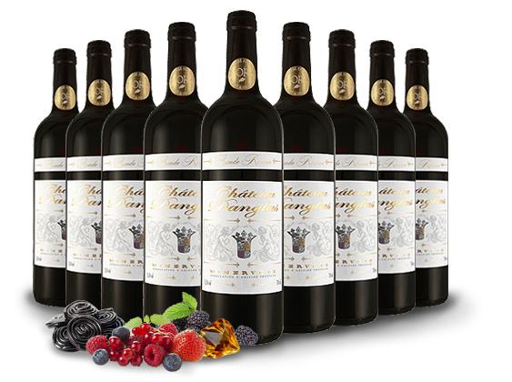 9 Flaschen Château Danglas Minervois für nur 39,- Euro [ebrosia]