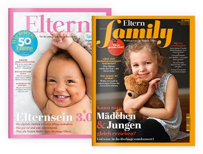 Eltern oder Eltern Family  3 Ausgaben mit 15 € Amazon Gutschein