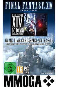 Final Fantasy 14/XIV . A Realm Reborn 60 Tage game card über ebay
