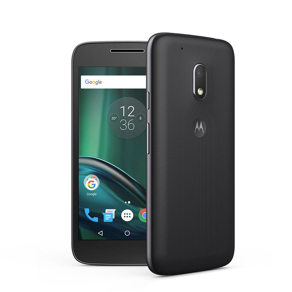 Moto G4 Play LTE + Dual-SIM (5'' HD IPS, Snapdragon 410 Quadcore, 2GB RAM, 16GB eMMC, 8MP + 5MP Kamera, kein Hybrid-Slot, 2800mAh wechselbar, Android 6 -> 7) für 129,01€ [Motorola]