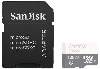 Sandisk Ultra 128GB microSDXC Class 10 / U1 für 25€ versandkostenfrei [Mediamarkt]