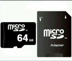 64 GB MICRO SD-SPEICHERKARTE CLASS 10 + Adapter inkl. Versand