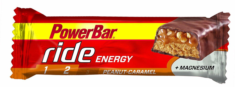 [Amazon Sparabo] Powerbar Ride Riegel, Erdnuss-Karamell, 18 x 55 g, 1er Pack (1 x 990 g Packung) für 7,46€