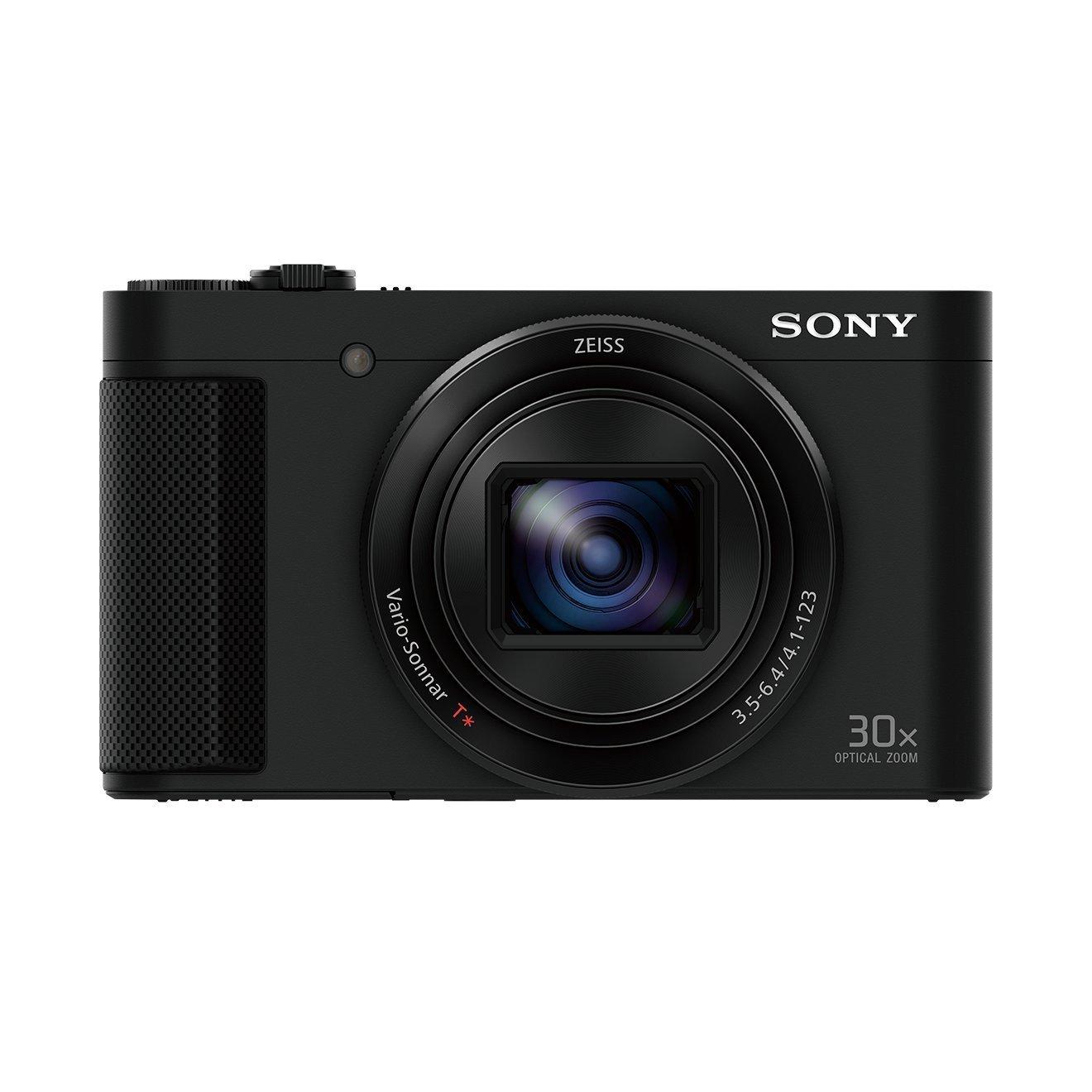(Amazon.fr) Sony DSC-HX90 - 18 MP Exmor R-CMOS Sensor, 30x opt. Zoom, 180 Grad schwenkbares Display, Oled Sucher, Zeiss Objektiv, WiFi, NFC für 303,20€