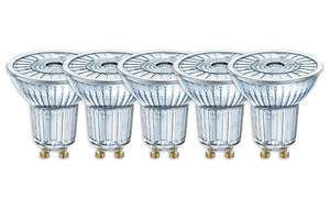 Ebay- 5 x Osram LED Star PAR16 50 36° GU10 Strahler Glas warmweiß 2700K