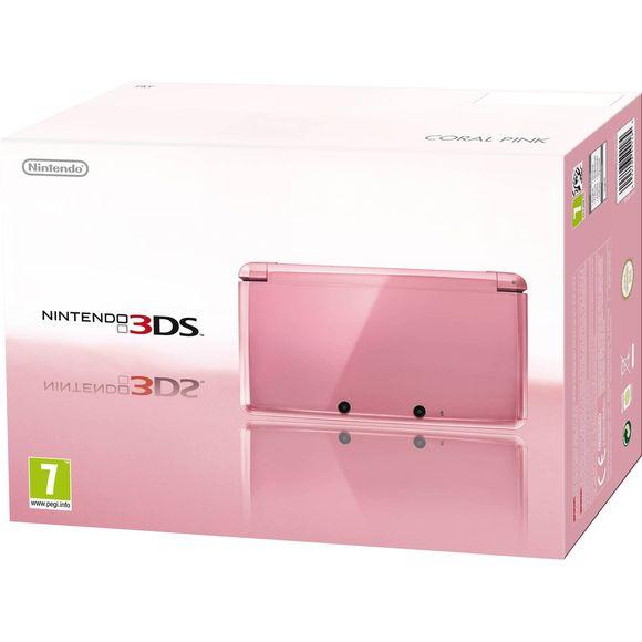Nintendo 3DS in pink [Coolshop]