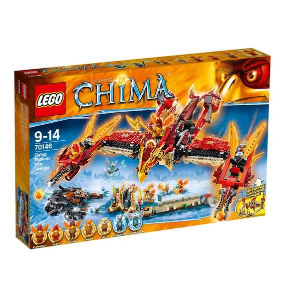 Lego Chima 70146 Phoenix Fliegender Feuertempel für 53,99€ bei [GALERIA Kaufhof] wieder verfügbar!