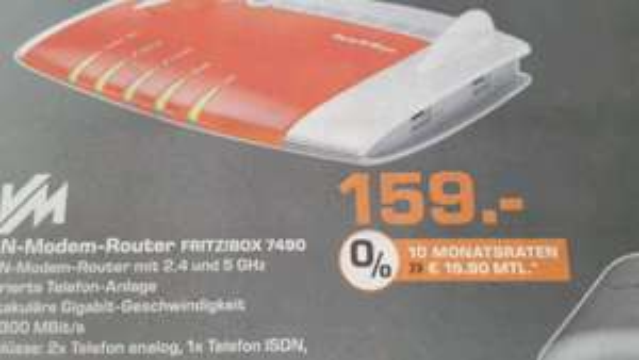 [LOKAL Saturn Wesel] AVM Fritz Box 7490