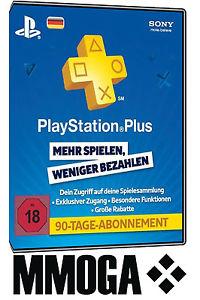 PlayStation Plus - PlayStation Network 90 Tage PSN Card [DE]