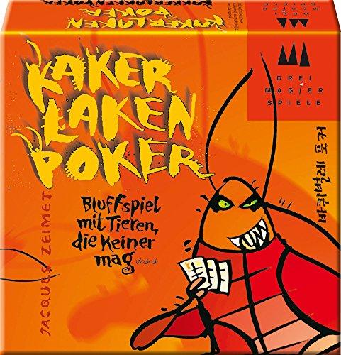Kakerlaken Poker - Lustiges Kartenspiel für 5,99€