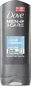 [Amazon Prime] Dove Clean Comfort Men+Care Duschgel 6 x 250 ml (vorbestellbar)