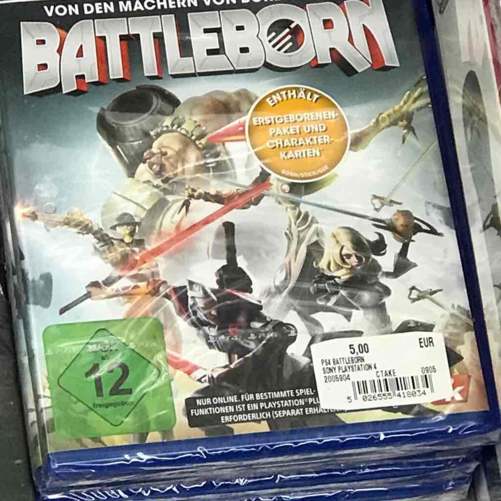 Battleborn PlayStation 4 Lokal Media Markt HH Oststeinbek