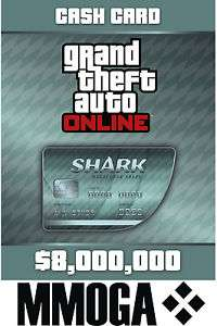 Grand Theft Auto V CashCard - 8000K $ Dollar PC