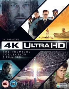 [amazon.co.uk] 4K Ultra HD - The Premiere Collection - 6 Filme ein Preis