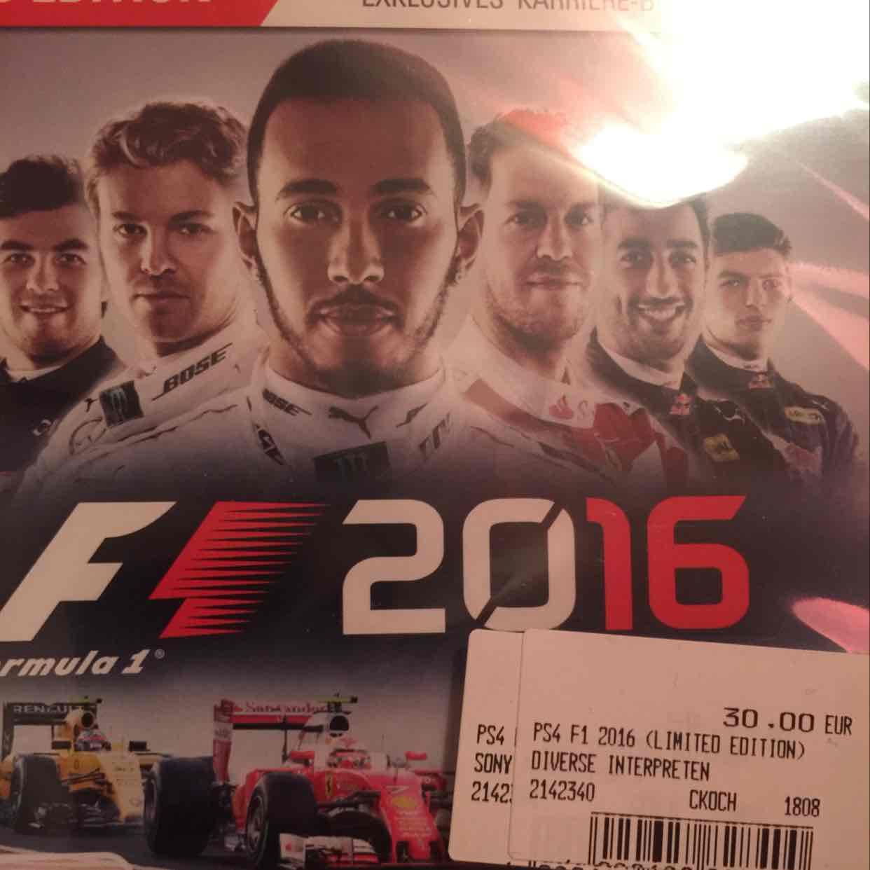 F1 2016 für PS4