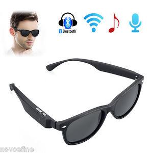 Wireless Bluetooth Sonnenbrille Kopfhörer Freisprech Telefon